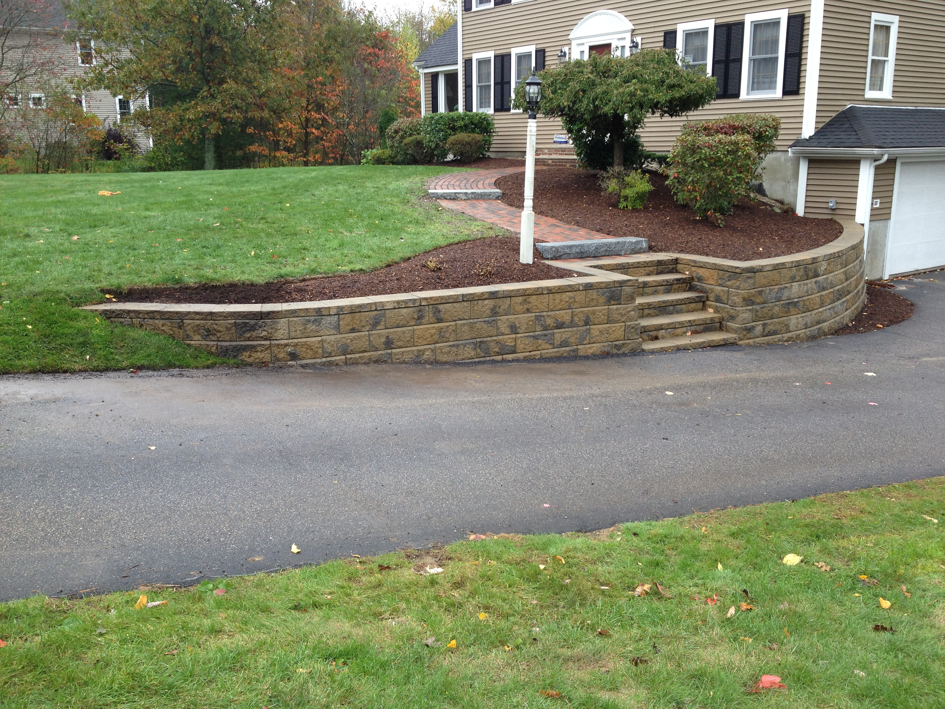Retaining walls for Landscape retaining wall design